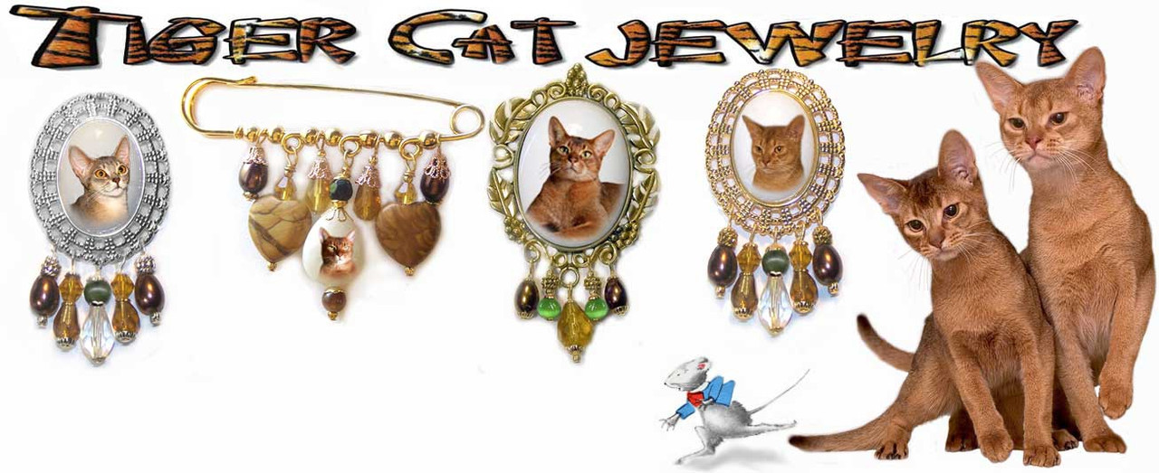 Abyssinian Brooches