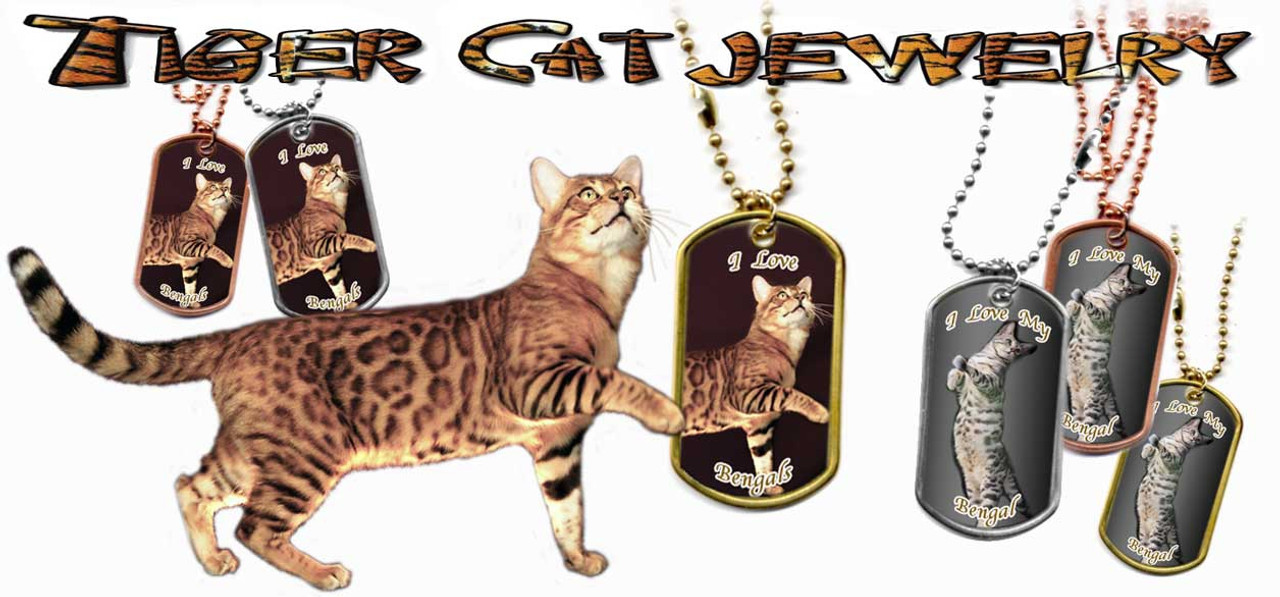 Bengal Cat Dog Tags