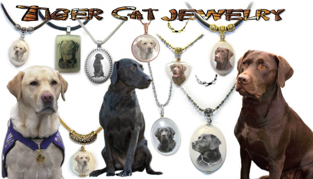 Labrador Retriever Pendant Necklace