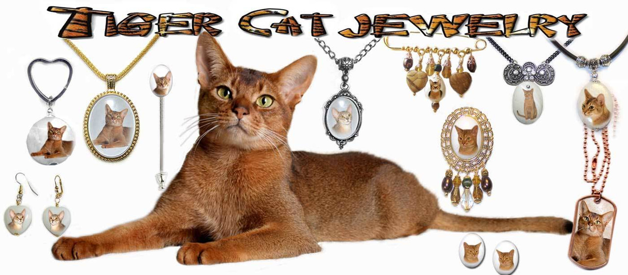 Abyssinian Cat Jewelry