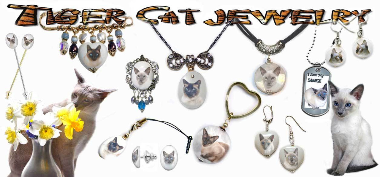 Siamese Cat Jewelry