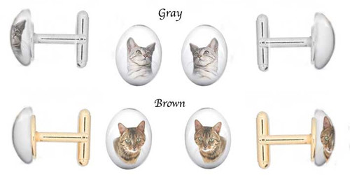 Bengal Cat Breed Cuff Links