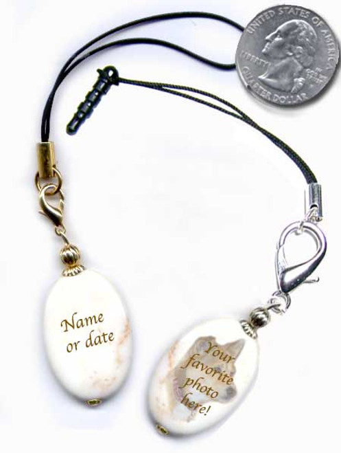 Pet Memorial Cell Phone Lanyard