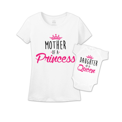 Mommy & Me White Set - Queen/Princess