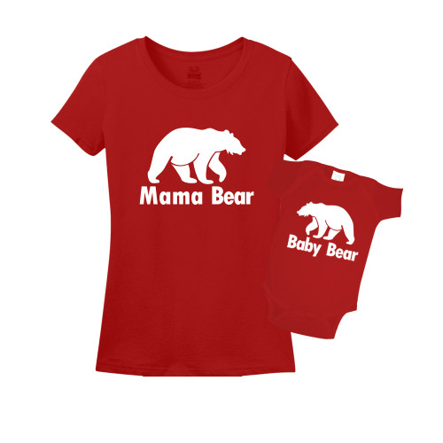 Mommy & Me Red Set - Mama/Baby Bear