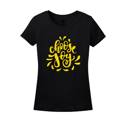 Choose Joy Black Yellow
