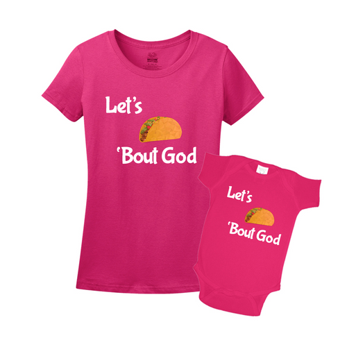 Mommy & Me Pink Set - Taco