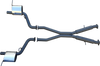 "DPE Manta Pro Series Jeep SRT 3"" Cat Back Exhaust System"