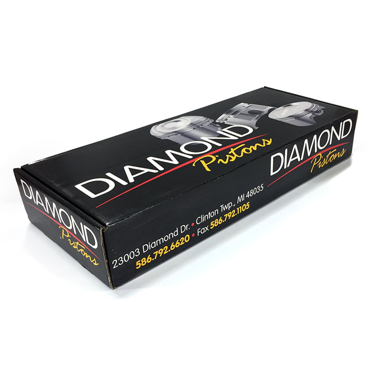 "Diamond Racing LS 4.030"" Pistons Set   4.00"" Stroke -15cc Dish"