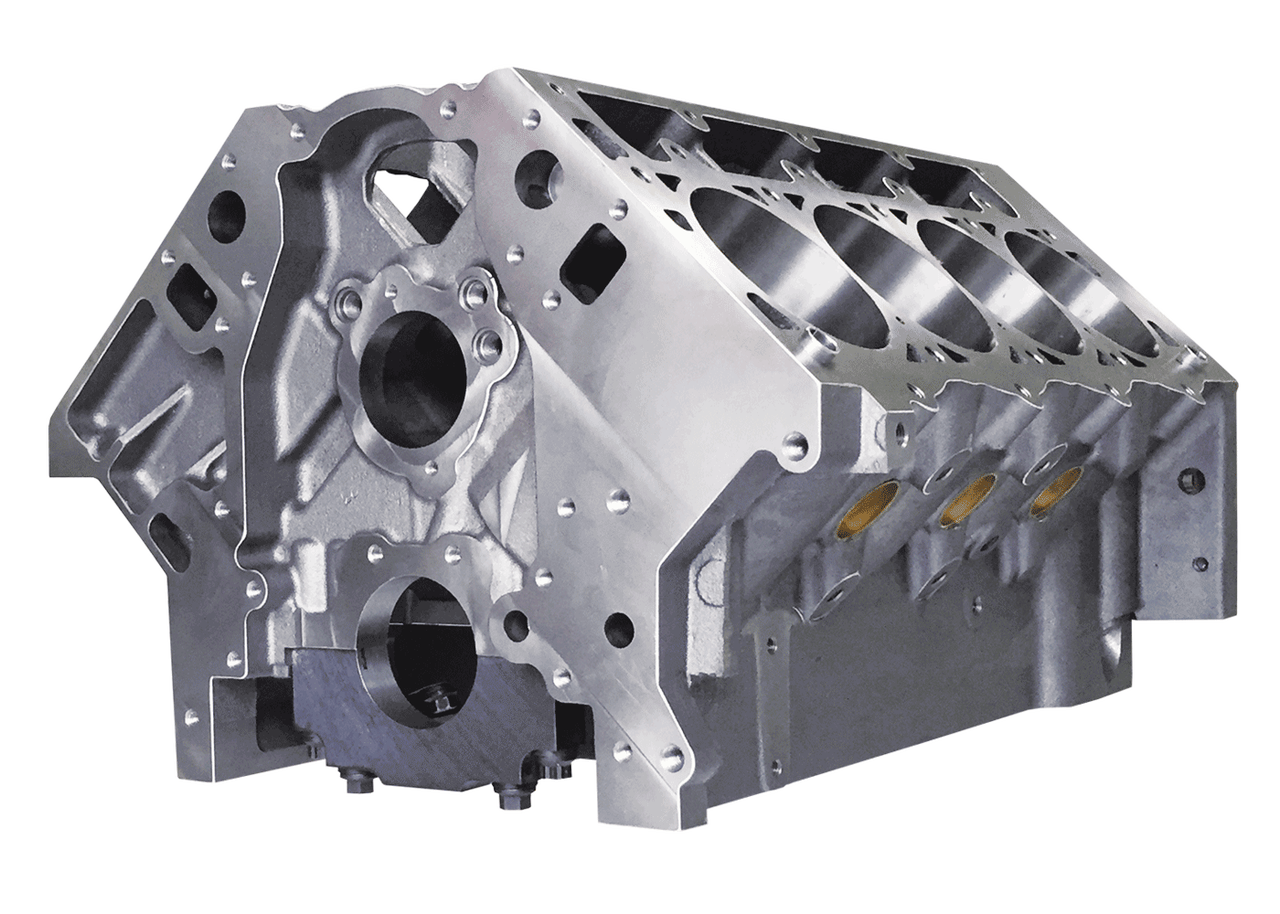 "DART SHP LS Next PRO Cast Iron Engine Block 4.00"" Bore 9.240"" Deck"