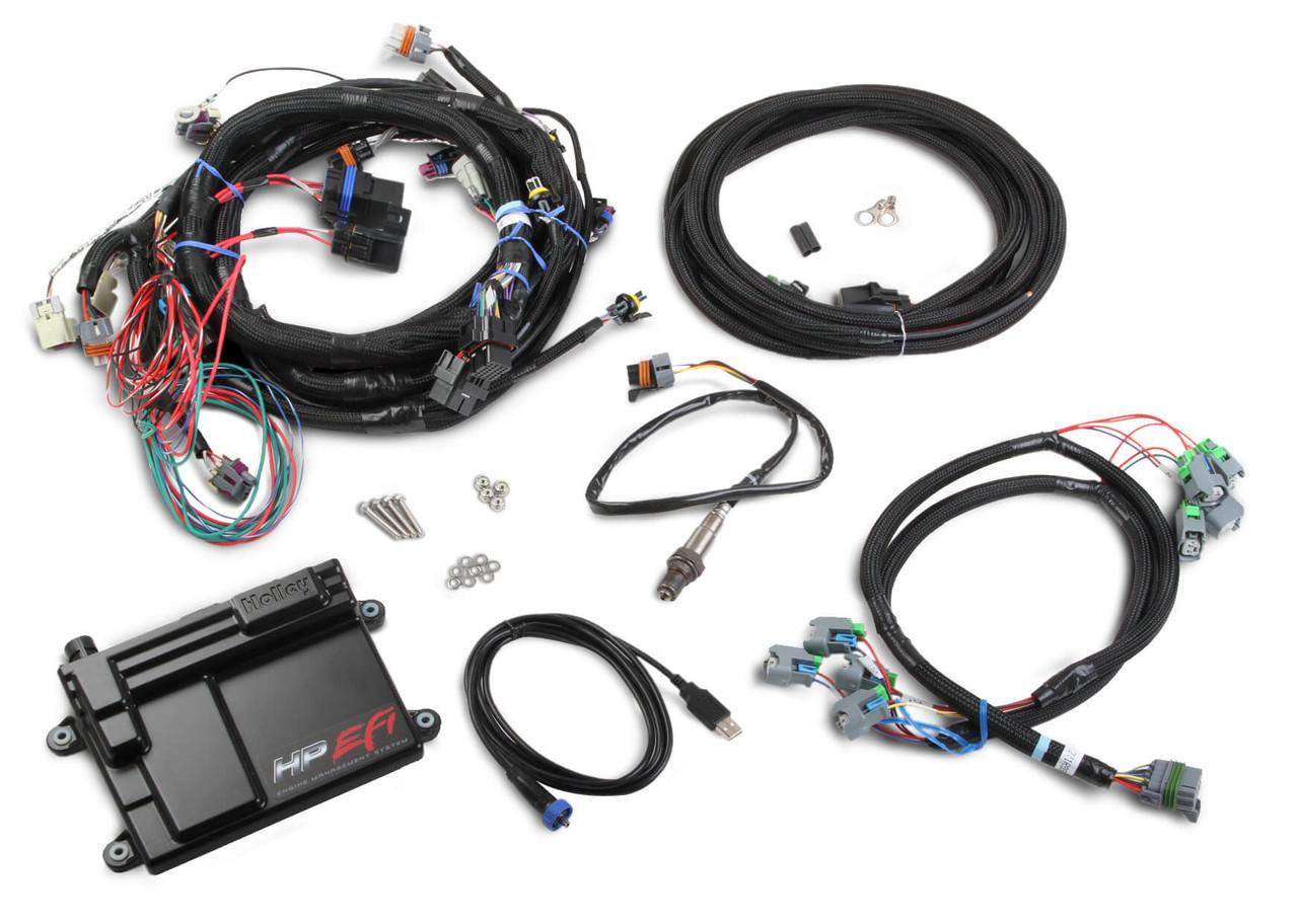 Holley EFI ECU & Harness Kit (58x Crank Sensor)
