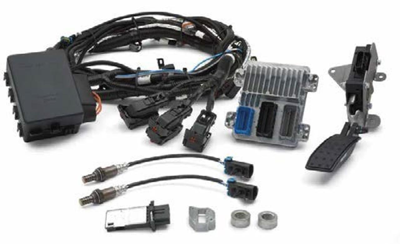 Chevrolet Performance LSA Engine Controller Kit   EFI ECU & Harness Kit (58x Crank Sensor)