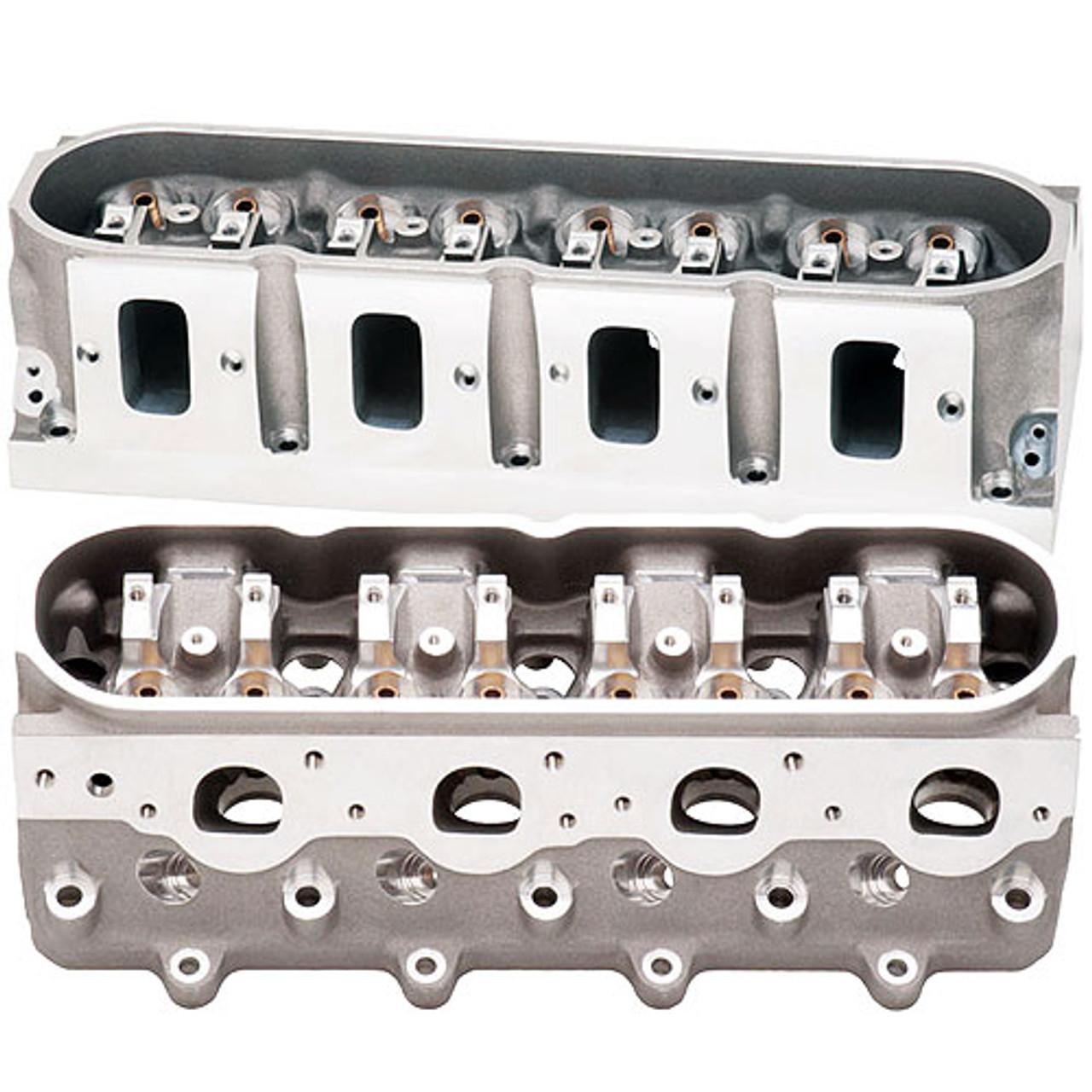 Brodix BP BR3 LS3 15 Degree CNC Ported Cylinder Heads   Assembled