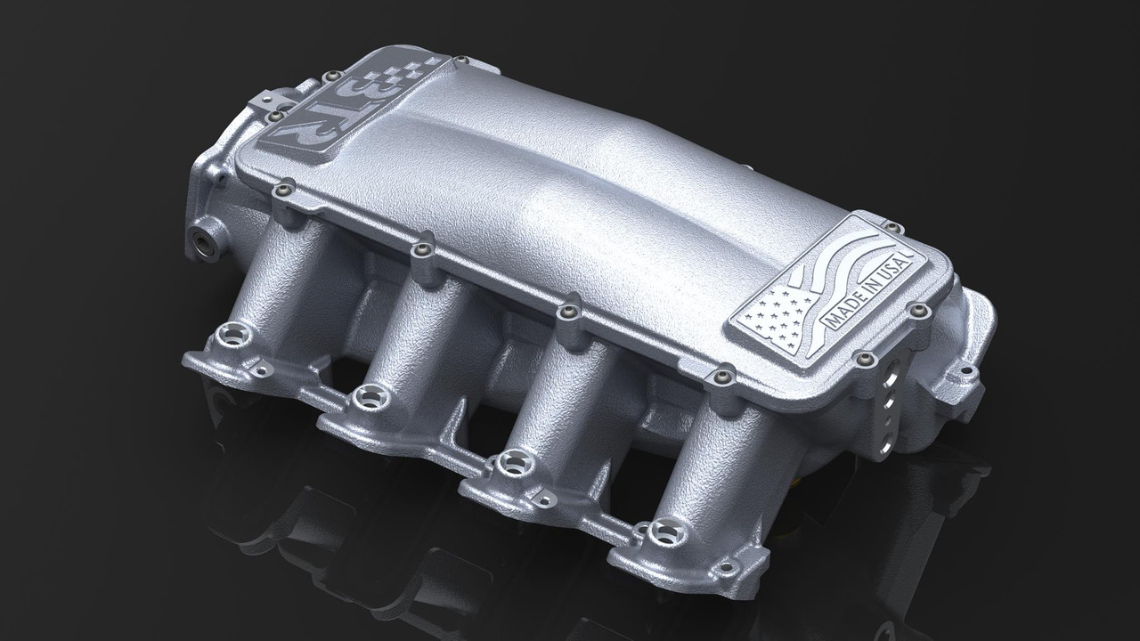 BTR Equalizer 1 102mm Intake Manifold | CATHEDRAL PORT | BTR Fuel Rail Kit