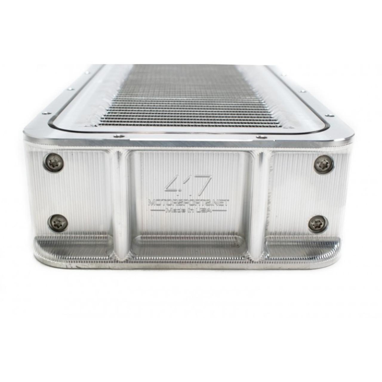 417 Motorsports Air To Water Billet Intercooler 2,000 HP