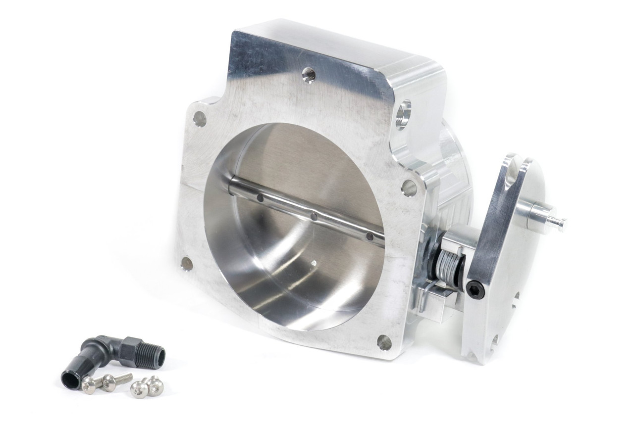 Nick Williams Billet 102mm Cable Throttle Body | NATURAL
