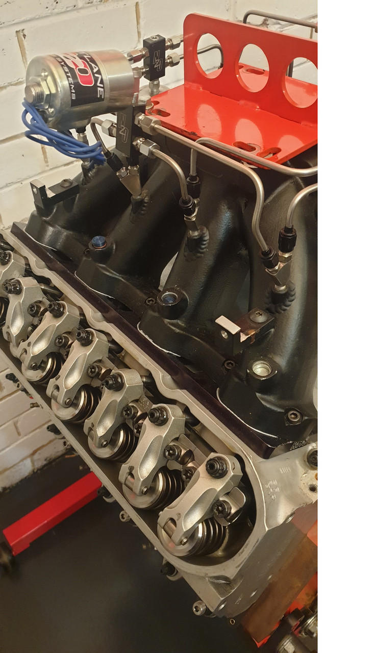 $110 Per Week | LSX 447ci Solid Roller Nitrous 750+hp Engine  | Long Motor