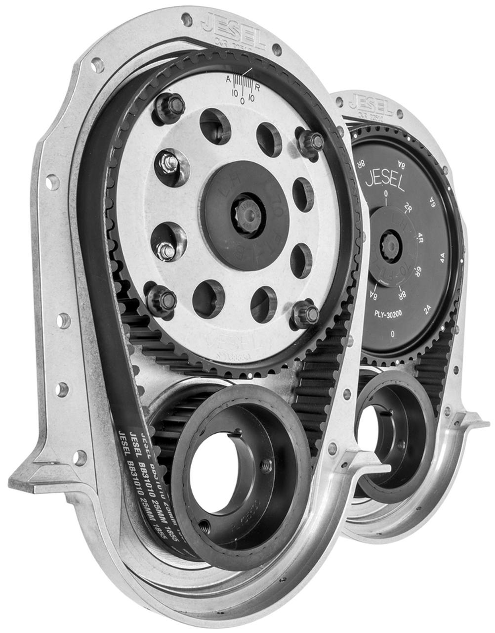Jesel KBD-31600 2-Piece Upper Pulley Belt Drive System