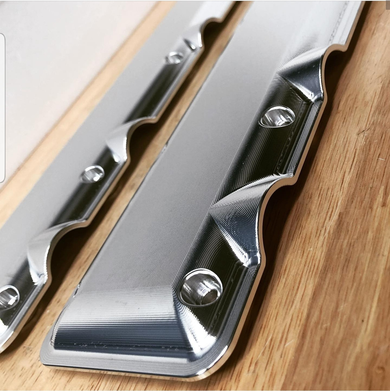 LSX LSA Billet Coil Covers | Raw Finish