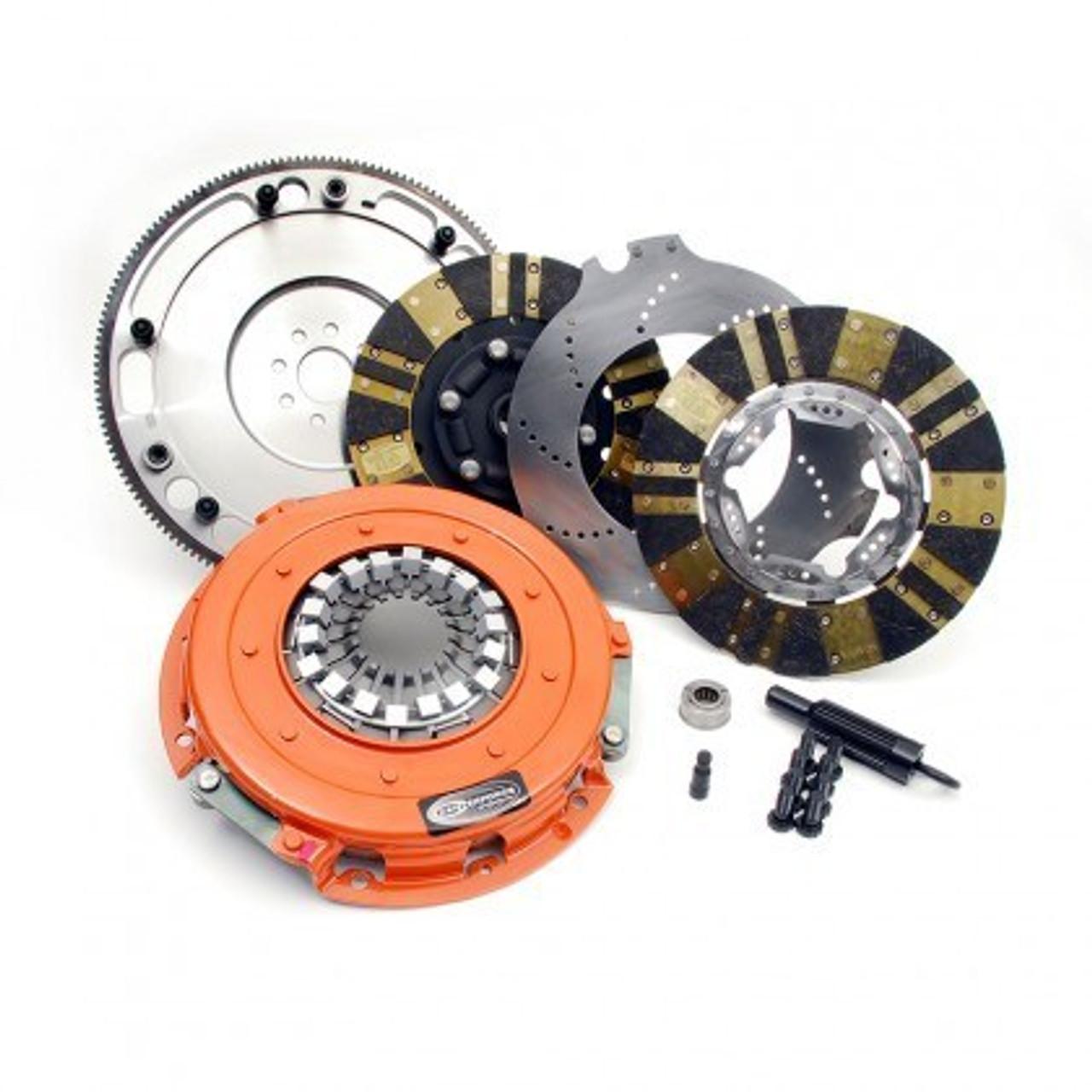 Centerforce TRIAD XDS Triple Disc 8.750″ LS 6-Bolt Crank 26-Spline | 1,100 HP