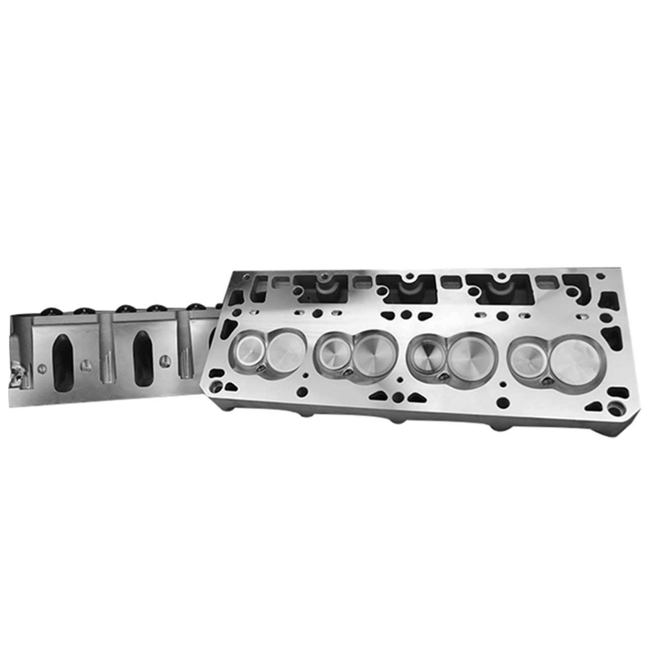 """PRC 4.00+"""" Bore Cathedral Port 15 Degree 247cc  Heads & TSP Cam Package 