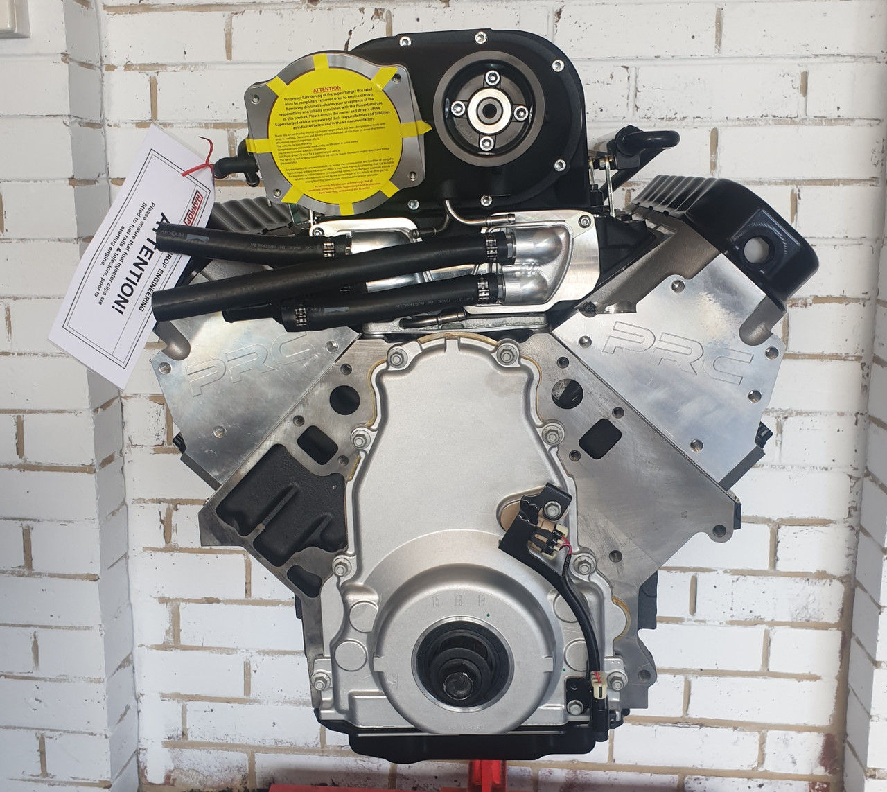 Harrop Supercharged 403ci LY6 Stroker Engine | Long Engine | 2650 Supercharged Inline Drive