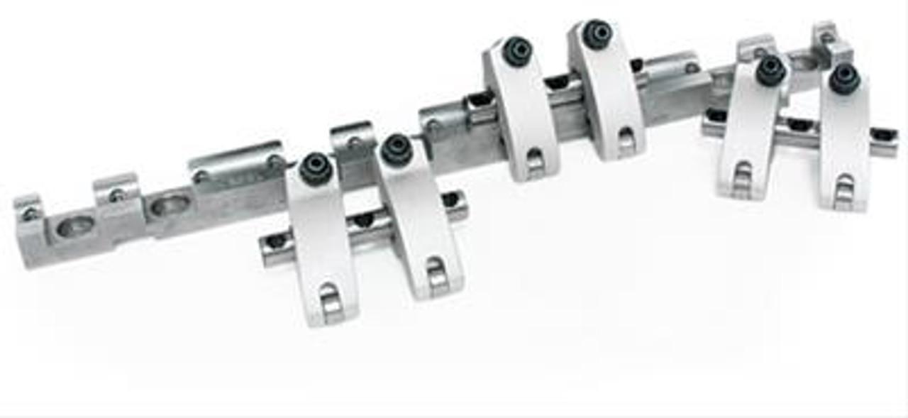Jesel Sportsman Series Shaft Mount Rocker Arms   LS1/LS2 1.75 Ratio   Solid Roller (Threaded Adjuster)