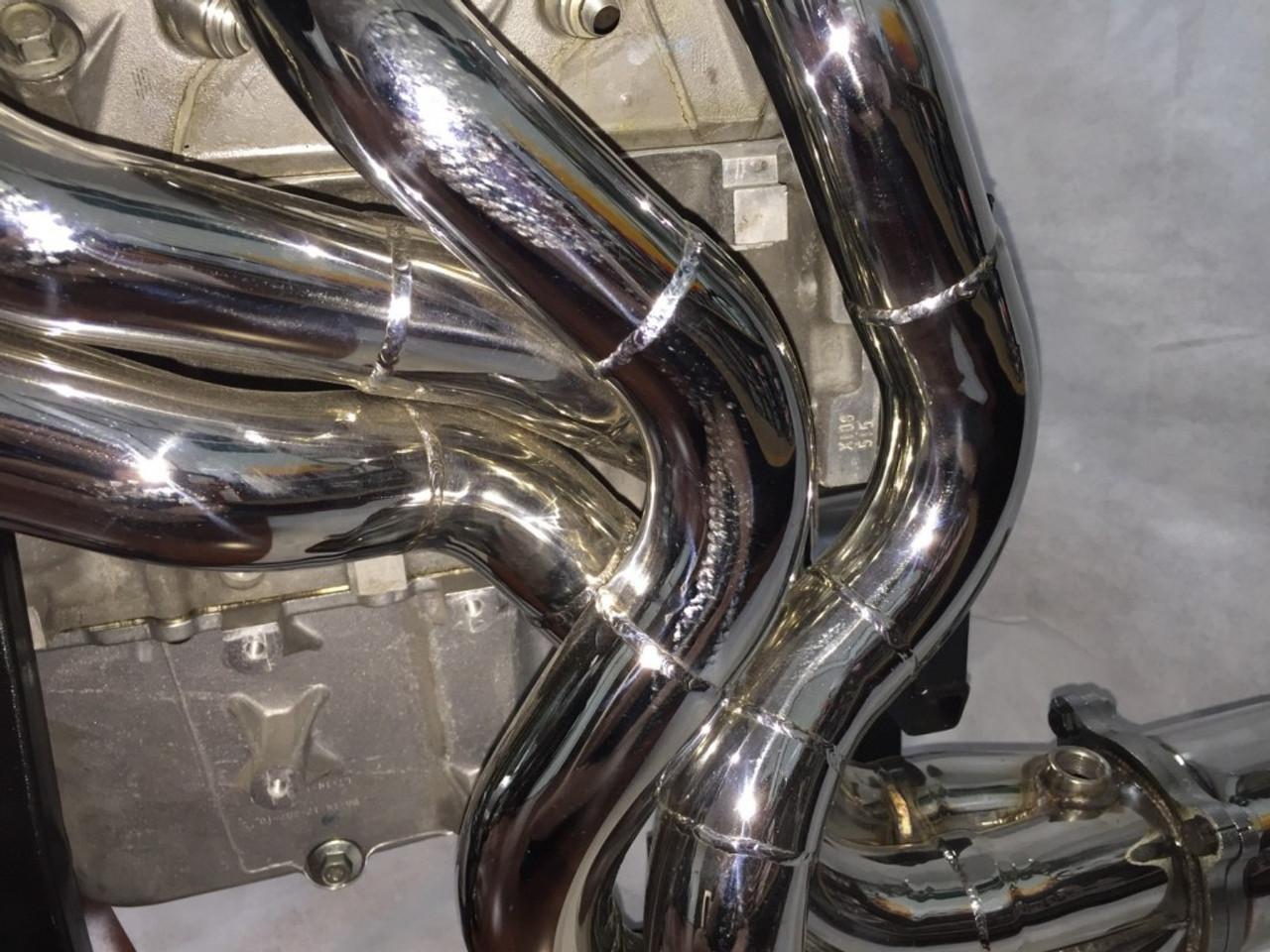 """REX Ramjet Exhausts VE - VF 1"""" 3/4 Headers and 2.5"""" Hi Flow Cats"""
