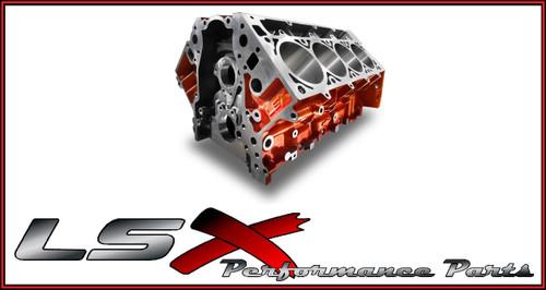 "LSX Bowtie Cast Iron Block 3.800"" Bore 9.720"" Tall Deck"