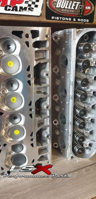 LSX LS3 Cylinder Heads Assembled | Rectangle Port | As Cast | 65cc / 280cc