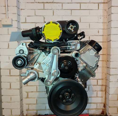 Dart LS Next SHP 427ci Supercharged Stroker | Long Motor | Harrop Supercharged | 9.8:1
