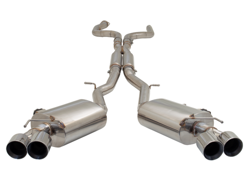 "Camaro Twin 3"" Stainless Steel Cat Back | Varex Mufflers | 2016 + Camaro Gen 6"
