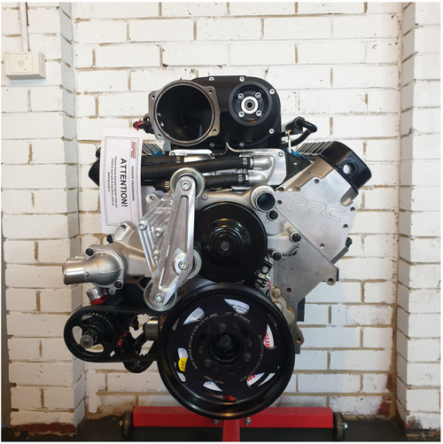 Dart LS Next SHP 427ci Supercharged Stroker | Dry Sump Long Motor | Harrop Supercharged | 9.8:1