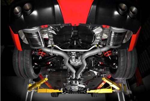 """Harrop VE/VF 2.5"""" Full Exhaust System"""