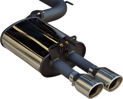 "DPE Manta Pro Series 2.5"" Rear Mufflers | VE - VF"