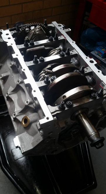 LS 416ci LS3 Stroker Engine   Short Motor   Turbo 9.1:1 Compression
