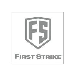 """First Strike 6"""" Decal / Silver"""