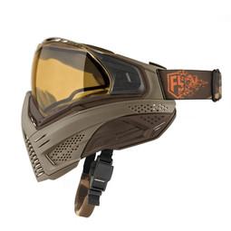 First Strike Push Unite Paintball Mask - Tan/Brown