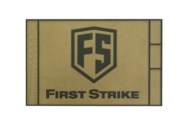 First Strike Tech Mat - Tan/Green