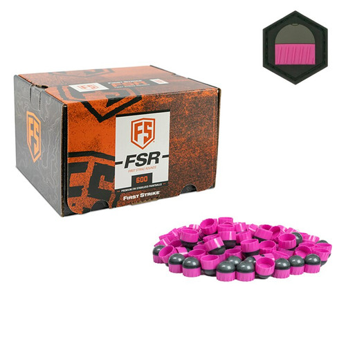 First Strike 600 Round - Smoke/Pink - Pink Fill - Limited Edition Patch
