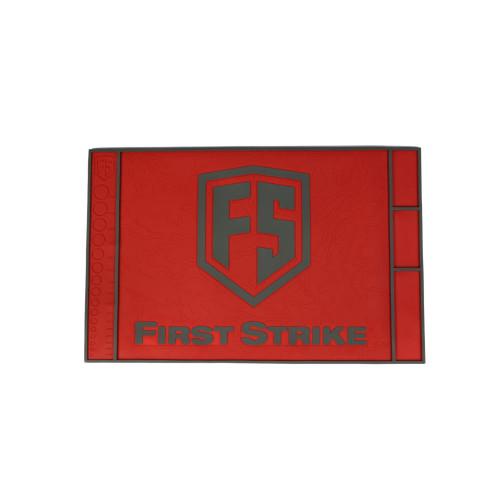 First Strike Tech Mat / Red - Grey