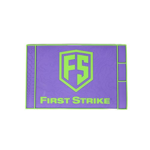First Strike Tech Mat / Purple - Lime