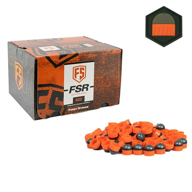 First Strike 600 Round - Smoke/Orange - Orange - Limited Edition Patch