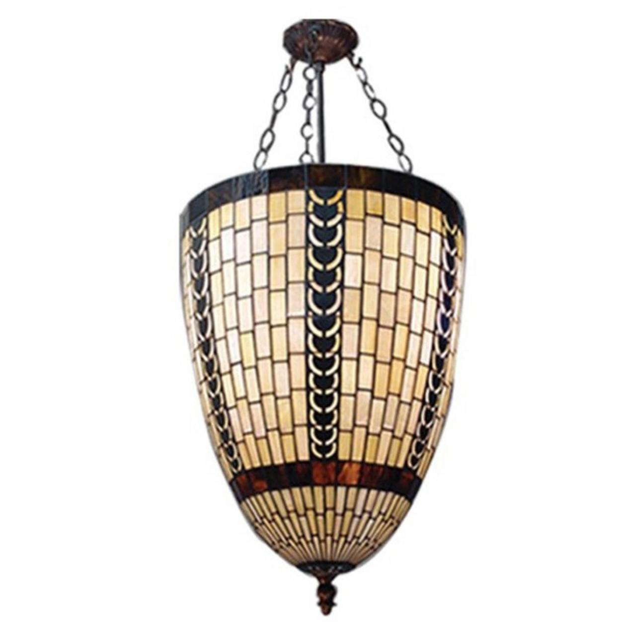 Honey Cone Geometric Pendant Light Zest Lighting