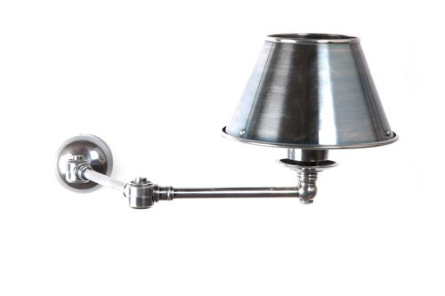 Portland Single Swing Arm Wall Lamp