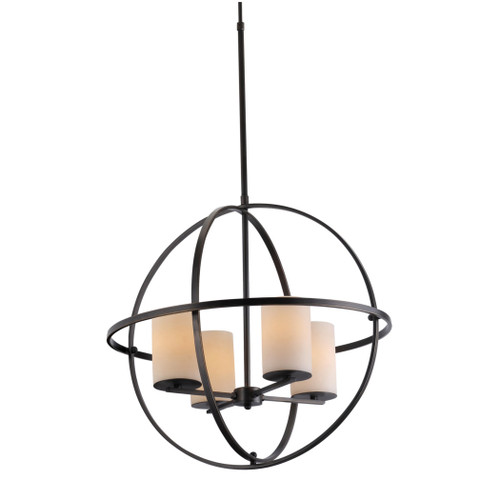 Orb 4 Candle Chandelier