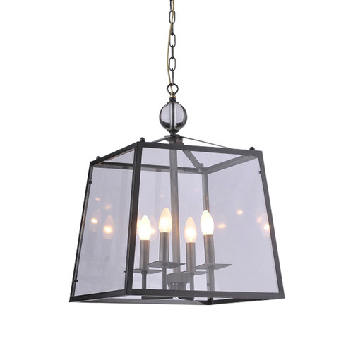 4 Candle Light Lantern Pendant