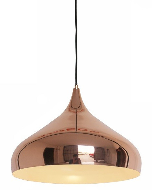 Spin Copper Pendant Light