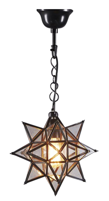 Small Star Pendant Light