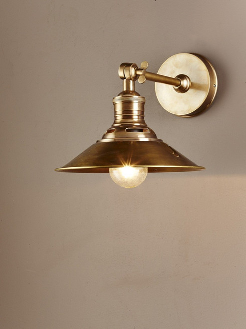 Bristol Antique Brass Wall Sconce